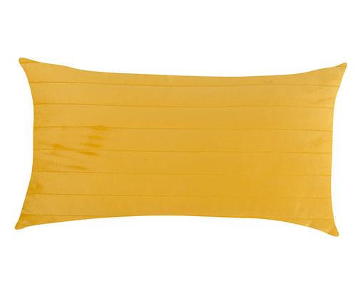 Almofada em Veludo Ripado Bernadine - Amarelo, dourado | WestwingNow