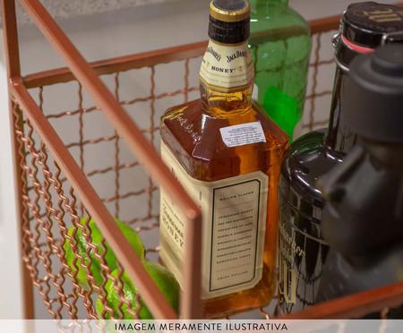 Carrinho de Bar Grid - Cobre | WestwingNow