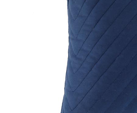 Almofada em Veludo Zig Zag - Marinho - 30x50cm | WestwingNow