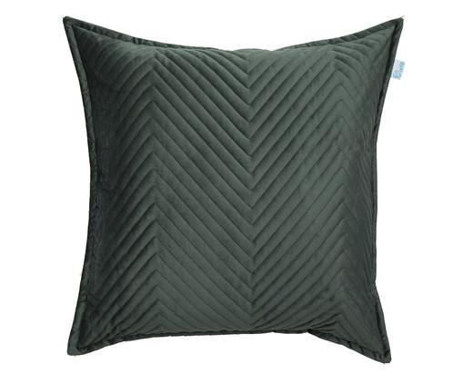 Almofada em Veludo Zig Zag Verde - 50x50cm, verde | WestwingNow