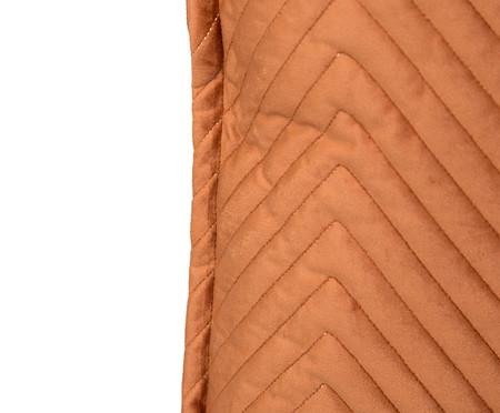 Almofada em Veludo Zig Zag Terra - 50x50cm | WestwingNow