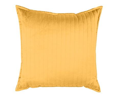 Almofada em Veludo Ripado Bernadine - Amarelo | WestwingNow