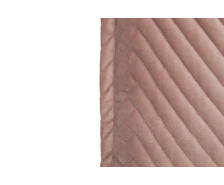 Almofada em Veludo Zig Zag Rosé - 50x50cm | WestwingNow