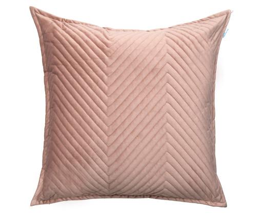 Almofada em Veludo Zig Zag Rosé - 50x50cm, ROSé   WestwingNow