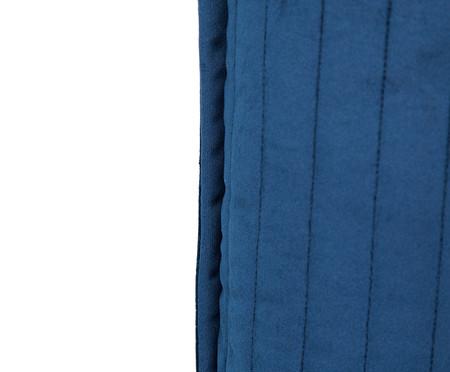 Almofada em Veludo  Ripado Marinho - 50x50cm | WestwingNow