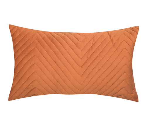 Almofada em Veludo Zig Zag Terra - 30x50cm, TERRA | WestwingNow