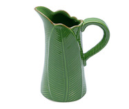 Jarra em Cerâmica Folha - Verde | WestwingNow