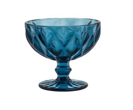 Jogo de Taças para Sobremesa em Vidro Boston - Azul | WestwingNow