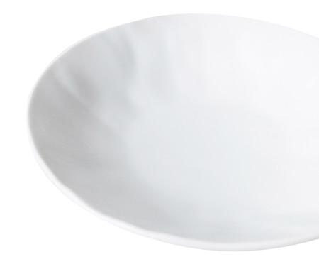 Jogo de Pratos Fundos em Porcelana Amboise - Branco | WestwingNow