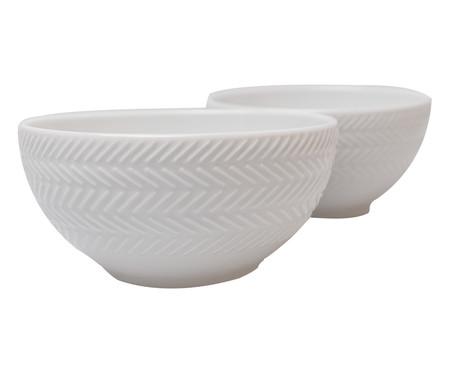 Jogo de Bowls em Porcelana Lucerne - Branco | WestwingNow