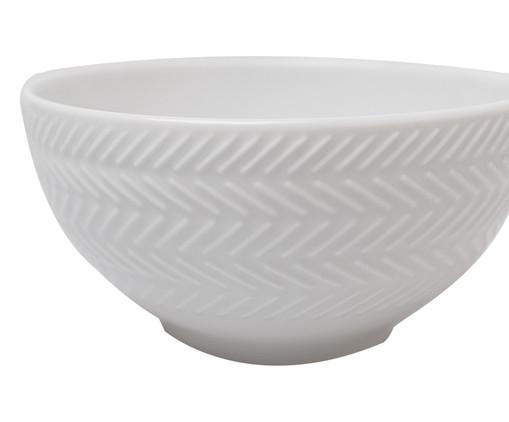 Jogo de Bowls em Porcelana Lucerne - Branco, Branco   WestwingNow