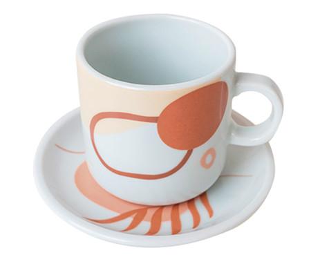 Jogo de Xícaras para Chá em Porcelana Sanharó - Colorido | WestwingNow