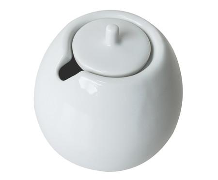 Açucareiro em Porcelana Brusque - Branco   WestwingNow