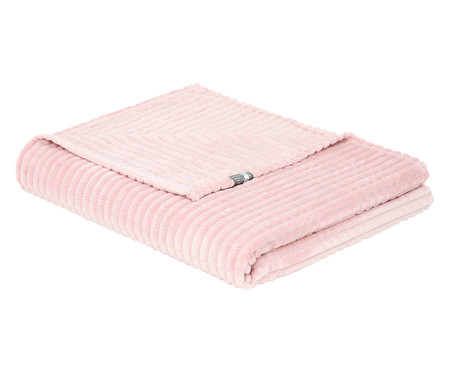 Cobertor Mont Blanc Rosé - 300 g/m²   WestwingNow