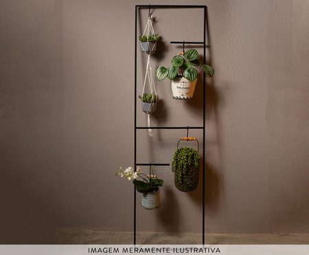 Floreira de Ferro Arris - Preta | WestwingNow
