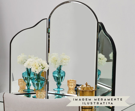 Espelho Jane - Prateado | WestwingNow