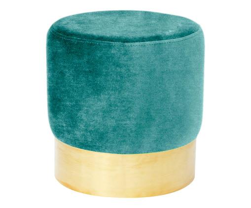 Pufe em Veludo Harlow - Verde Neo-Mint, Verde Neo-Mint   WestwingNow