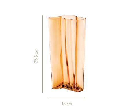 Vaso de Vidro Silvia - Âmbar | WestwingNow