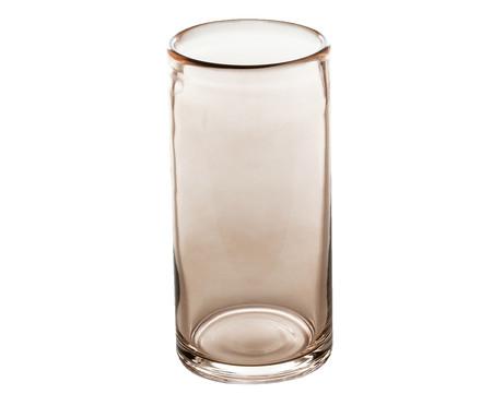 Vaso em Vidro Javan- Rosé | WestwingNow