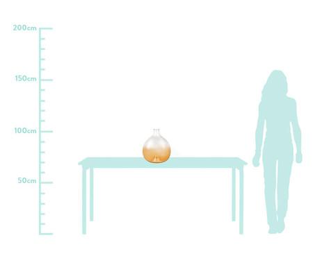 Vaso em Vidro Giglio - Âmbar | WestwingNow