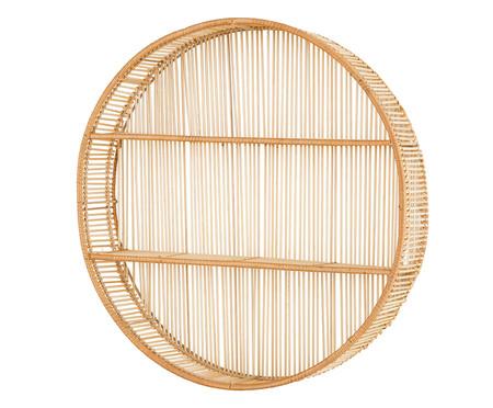 Nicho com Prateleiras em Bambu Nadia - Bege | WestwingNow