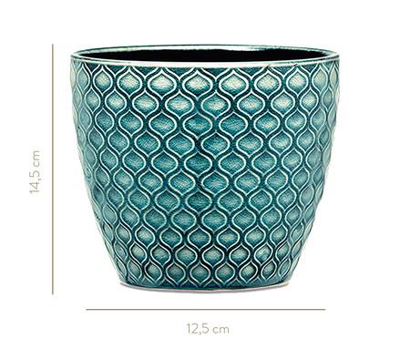 Jogo de  Cachepot em Cerâmica Jana - Verde | WestwingNow