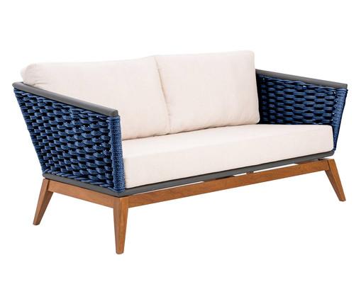 Sofá em Corda Náutica Freida - Azul Marinho, Azul | WestwingNow
