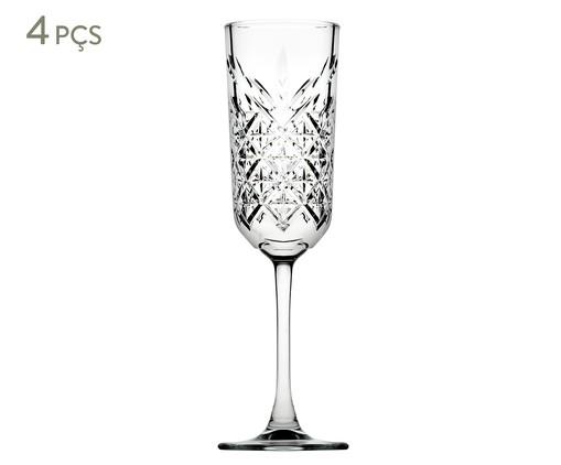 Jogo de Taças para Champagne Duarte - Transparente, Transparente | WestwingNow