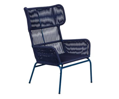 Poltrona Fiber - Azul, Azul | WestwingNow