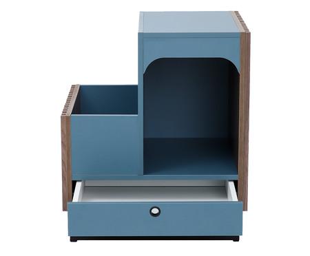 Mesa Lateral Pet Inno - Azul Secreto   WestwingNow