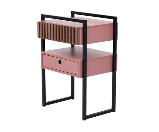 Mesa de Cabeceira Inno - Rosa Glamour, Rosa | WestwingNow