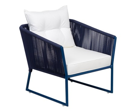Poltrona Florença - Azul | WestwingNow