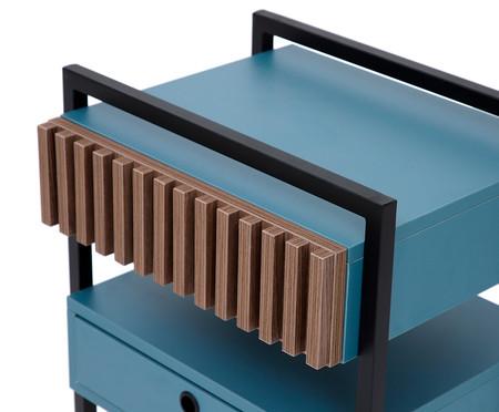 Mesa de Cabeceira Inno - Azul Secreto | WestwingNow