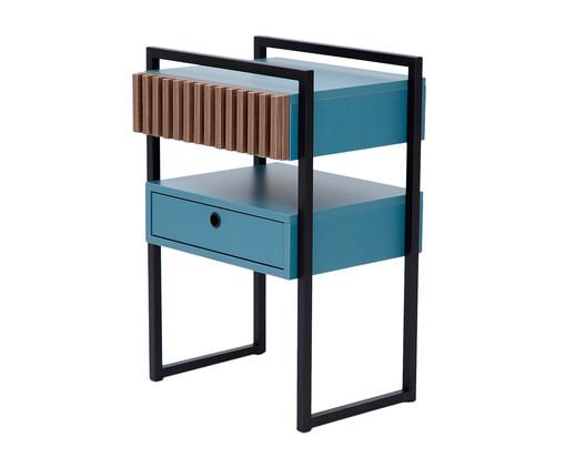 Mesa de Cabeceira Inno - Azul Secreto, Azul   WestwingNow