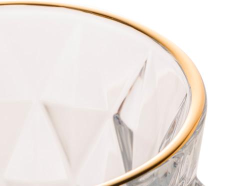 Jarra em Vidro com Fio de Ouro Candy - Transparente | WestwingNow
