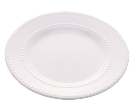 Prato Raso em Porcelana Sasha - Branco | WestwingNow
