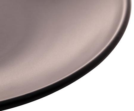 Prato para Sobremesa em Cerâmica Brigitte - Preto | WestwingNow