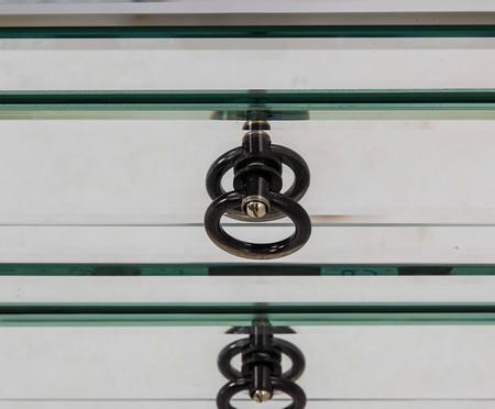 Mesa de Cabeceira Moore - Prateada | WestwingNow