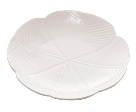 Prato Raso em Cerâmica Rubi - Branco | WestwingNow
