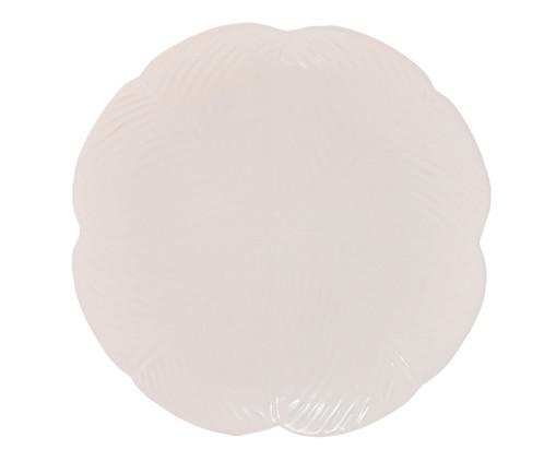 Prato Raso em Cerâmica Rubi - Branco, Branco | WestwingNow