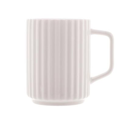 Caneca em Porcelana Hopkins - Branco | WestwingNow