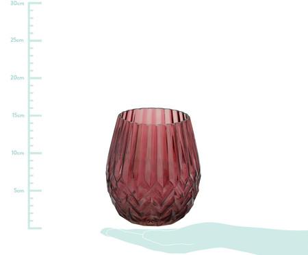 Vaso de Vidro Yehudit - Vermelho | WestwingNow