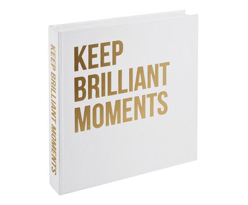 Book Box Quagliarelli - Branco e Dourado, Branco | WestwingNow