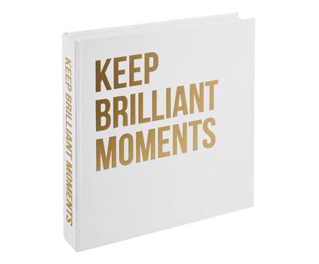 Livro Caixa Quagliarelli - Branco e Dourado | WestwingNow