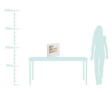 Book Box Quagliarelli - Branco e Dourado | WestwingNow