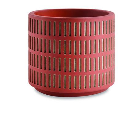 Jogo de Cachepots de Cimento Érica - Marrom | WestwingNow