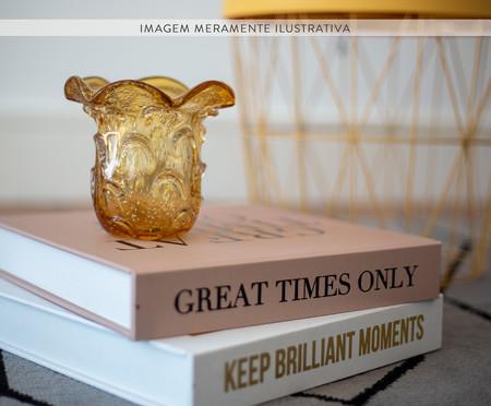 Livro Caixa Decorativo Great Times - Rosa | WestwingNow