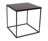 Mesa de Jantar Quadrada Mondrian - Preta | WestwingNow