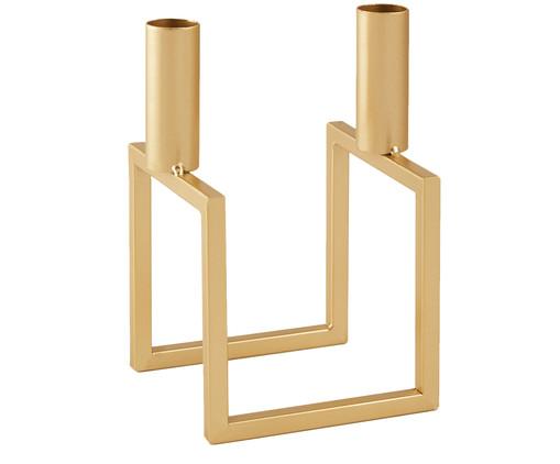 Candelabro Quilici - Dourado, Dourado   WestwingNow