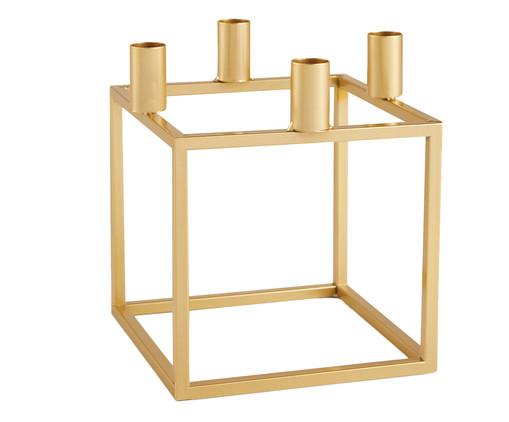 Candelabro Bertagna em Metal - Dourado, Dourado | WestwingNow